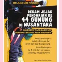 Rekam Jejak Pendakian ke-44 Gunung di Nusantara