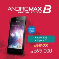 4G SMARTFREN ANDROMAX B SE RAM 2 GB ROM 16 GB