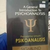 Pengantar Umum Psikoanalisis - Sigmund Freud