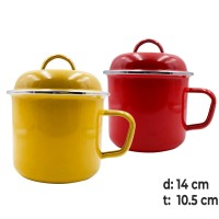 Kedaung Mug Enamel , KI-CK/14 Warna TUTUP , HNE 10521