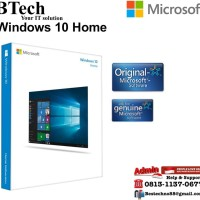 Microsoft Windows 10 Home Original License