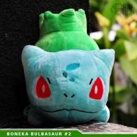 Boneka bulbasur 2 Anime Pokemon/Pokemon Go [Limited Edition]