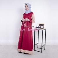Grosir Baju murah / Gamis busui / Hijab model baru : New Renata Dress
