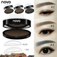 NOVO Eyebrow Stamp Original + Cetakan Alis