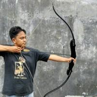 Busur Panah Black Spesial Dewasa Archery