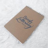 Handlettering exercise book buku tulis lettering