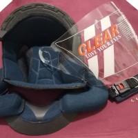 Paket Komplit Helm Ink Cx 22 Busa plus kaca Bening