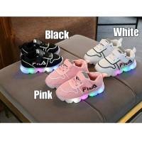Sepatu LED anak/ LED FL sneaker
