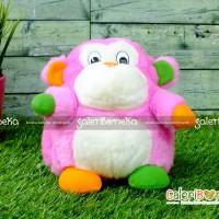 Boneka Gorila Cute Pink ( HK - 600230 )