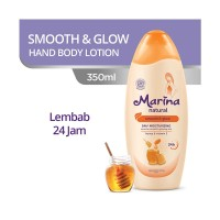 Marina Natural Hand and Body Lotion [350 mL] - Smooth and Glow
