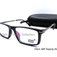 Kacamata Montblanc Free Lensa ANTI RADIASI EMI DAN UV Kacamata Fashi
