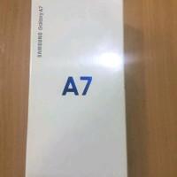 Jual Handphone Samsung Galaxy A7 2018 triple Kamera Ram 4 Ro Diskon