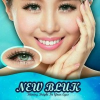 Best Product Softlens New Bluk / Newbluk - Green Normal Best Product