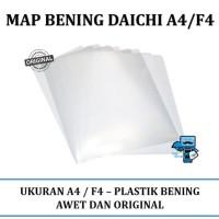 Termurah - Map Bening Daichi Letter A4 F4 12pcs Lusin