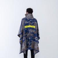 Jas hujan ponco karet / kelelawar / kalong / loreng army / GRC - 83003