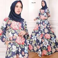 maxi emy navy 0011 gamis baju wanita terbaru busana muslim murah 5c4fb7e287