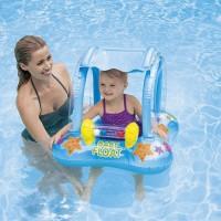 Pelampung Baby Kiddie Float 81cmx66cm Aages 1 sd 3 - Intex 56581