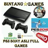 Ps3 Super Slim + Hdd 250gb + 2 Stick Warlled + Full Games