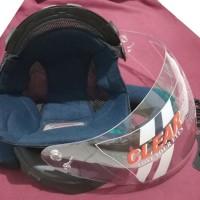 Paket Komplit Helm INK CENTRO Busa Kaca plus Rachet