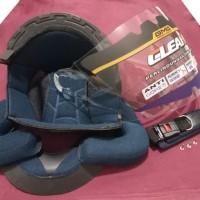 Paket Komplit Helm Ink Cx 22 Busa plus Kaca Bening ORI CLEAN GMA