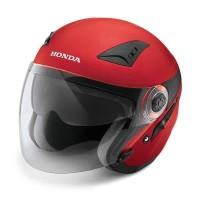 Honda Luxury Helmet Red Size M dan L – SH711