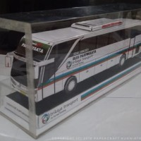 Papercraft Bus Trikaya Transport