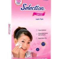 Selection Facial Cotton Special Thin Kapas Wajah Tipis 175s 175