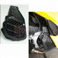 Cover Tutup Pelindung Hawa Radiator variasi New PCX 150 Motif Carbon