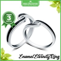 Promo Cincin Black Couple Eternity Rings terlaris