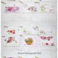 Kartu Ucapan Flower Gift Card Manis Valentine Murah Vintage Unik