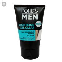 Ponds Men Lightning Oil Clear 50gr