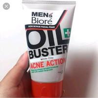 Men's Biore Facial Foam Oil Buster 50gr