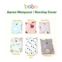 Apron Menyusui Jaring BOBO | Celemek Nursing Apron Bulat