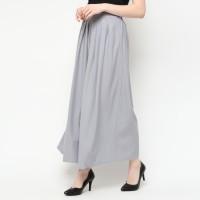 duapola Remple Loose Kulot Pants 88178 - Grey