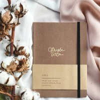 Cava Notebook Mocha + custom nama