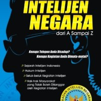 Buku Kupas Tuntas Intelijen Negara dari A Sampai Z Ismantoro Dwi Y