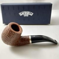 Savinelli Professor Rusticated 616 KS (9mm) Pipa Cangklong Briar Wood