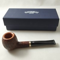 Savinelli Professor Rusticated 207 (9mm) Pipa Cangklong Briarwood Pipe