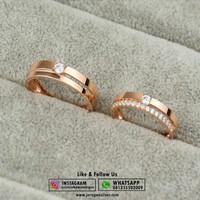 Cincin Kawin Perak, Couple, Nikah, Pasangan, Perhiasan No.515
