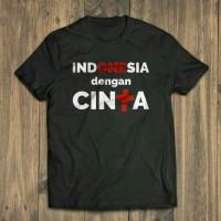 Jual KAOS BIG SIZE INDONESIA DENGAN CINTA 2XL 3XL 4XL Murah