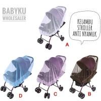 stroller cover / kelambu penutup stroller anti nyamuk