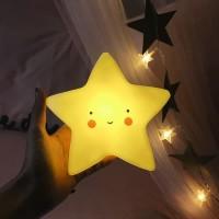 Led Lampu Tidur Motif Awan Bintang Lampu Kamar Anak
