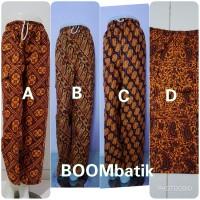 Celana Batik Betawi Boim Panjang JUMBO | CL2