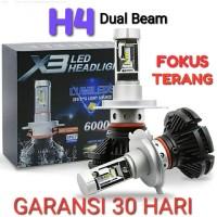 Lampu Led Mobil H4 Hight / Low Beam