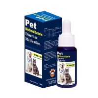 Obat Diare Kucing Mencret Anjing PET Metronidazole Diarrhea Medication