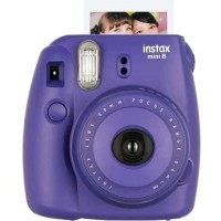 Fuji Film Instak Mini 8 purple Garansi Resmi