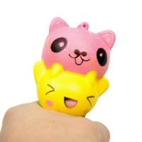 Jual Squishy Kucing Rainbow Best Seller / Mainan Anak