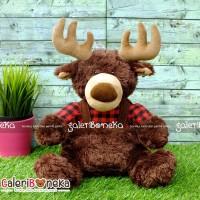 Boneka Rusa Moose Lumberjack ( HK - 606430 )