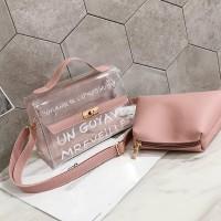 tas wanita tote bag clutch selempang jinjing murah fashion pergi mal
