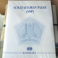 Surat setoran pajak 5 Rangkap/ SSP 5 R